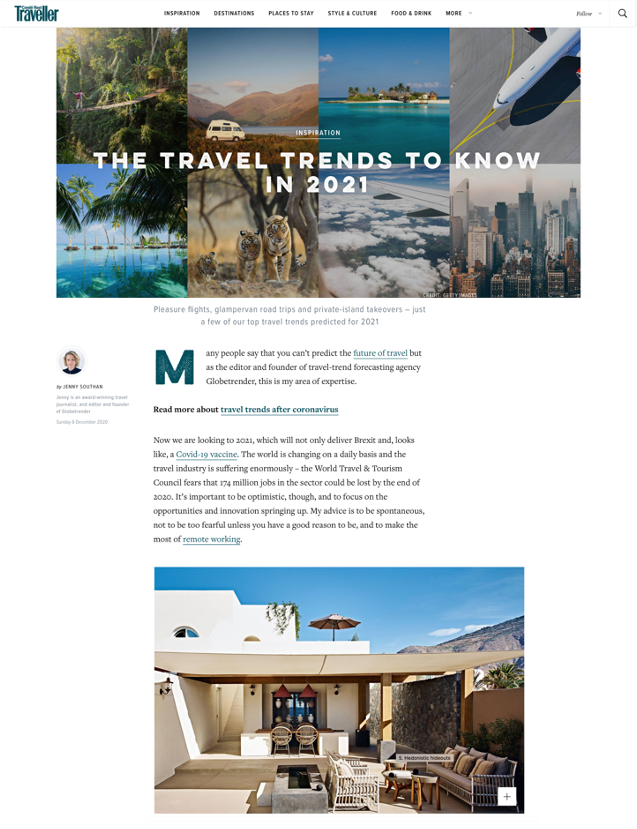Condé Nast Traveller – December 2020